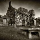 The Church Yard by Gary Moffat