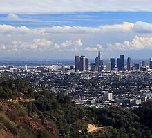 View of Los Angeles by bubblenjb