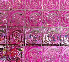 Rose Patterns in Plastic by Detlef Becher
