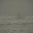 Surfing a Foggy Dawn by Jason Lee Jodoin