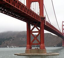 Golden Gate Bridge by HanieBCreations