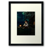Yo Ho, A Pirates Life for Me Framed Print