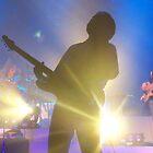 Guitarist Sillouhette..Guy Sebastain Concert by judygal