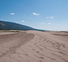 Sand Dune in Great Sand Dunes NP by Rob Schoon