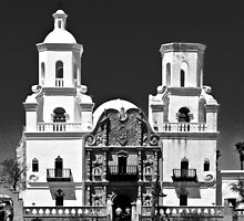 San Xavier del Bac by Linda Sparks