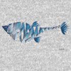 InfoFish Blue by mindprintz