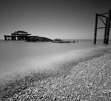 West Pier by Claire Hutton