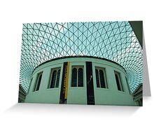 British Museum, London Greeting Card