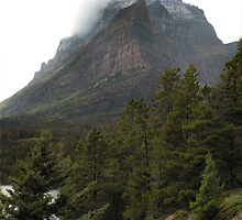 Going-to-the-Sun Mountain, Glacier National Park, Montana, USA by Dave Martsolf