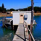 boat shed by Deborah Hilton