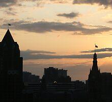 Morning Skyline by D.M. Mucha