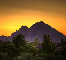 Camelback Sunrise by NikonLarry