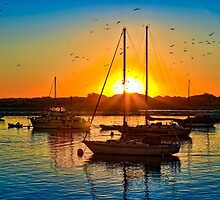 Morro Bay Sunset by Doug Scott