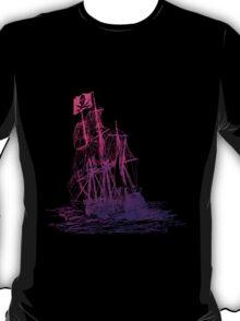 Ghost Ship Pink T-Shirt