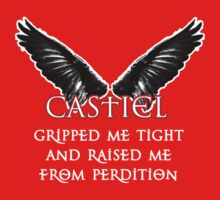 Castiel Gripped Me Tight by RubyFox