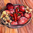 Hot Fruitq by Debra Keirce