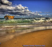 Golden Sands Platinum Sea by Garry Quince