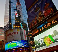 Rush Hour, Times Square by micpowell