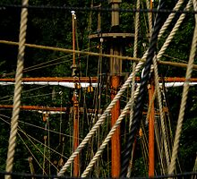 Jamestown Settlement Ships ~ Part Three by artisandelimage