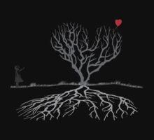 Banksy Heart Tree Shirt Kids Clothes