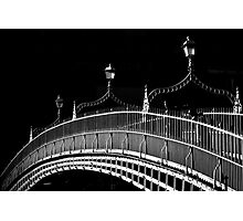 Ha'penny Bridge, Dublin Photographic Print