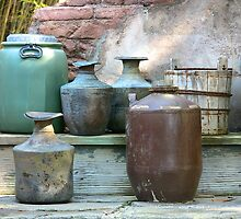 Clay pots in color by MrRSmith