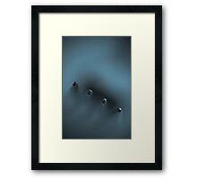 break-through Framed Print