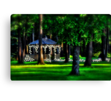 Wedding In The Forest Canvas Print