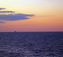 Sunset over the Gulf of Mexico 11 by Bill Perry