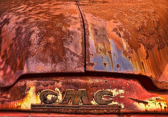 Rusted GMC Hood by sundawg7
