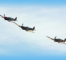 Victory Flypast  by Colin J Williams Photography
