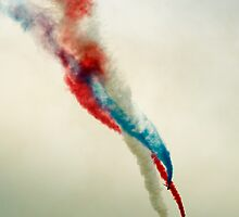 Red Arrows by Brian Haslam