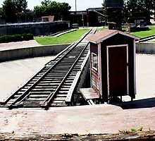 Turntable at the Stockyards by Charles Buchanan