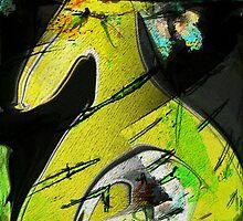 Das gelbe Pferd by darling110