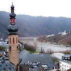 over the rooftops along the Rhine by Joyce Knorz