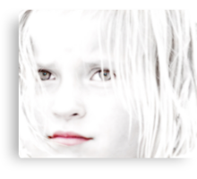 Windows to Her Soul Canvas Print