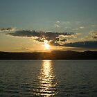Sunset on Lake George by Deborah Austin