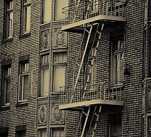 Fire Escapes by socalgirl