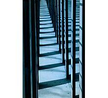 Blue Lines 1 Photographic Print