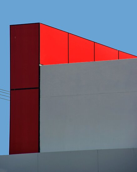 Mondrian in the suburbs by Erika Gouws