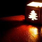 Christmas Tree Candle by gfairbairn