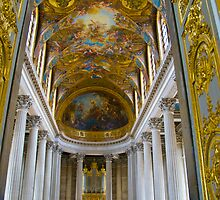 Chapel, Palace of Versailles - 2nd floor by Sheila Laurens