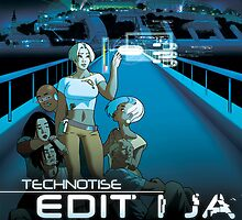 Technotise Edit i Ja - Plakat by technotise