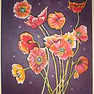 poppies bye twlite by lynseyl