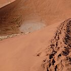 Sossusvlei dunes by benstrong