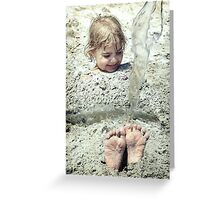 Foot Loose Greeting Card