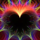Bursting Heart by Kim Pease