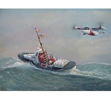 Coast Guard, On The Sea And In The Air Photographic Print