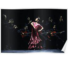 Bailarina Orgullosa del Flamenco Poster