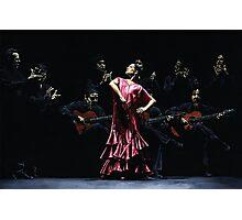 Bailarina Orgullosa del Flamenco Photographic Print